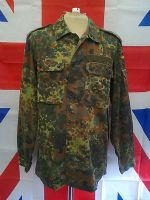 EX ARMY MILITARY GERMAN GREEN CAMO LIGHT WEIGHT JACKET